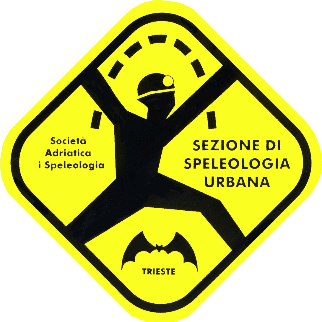 Logo Sezione Speleologia Urbana della SAS di Trieste