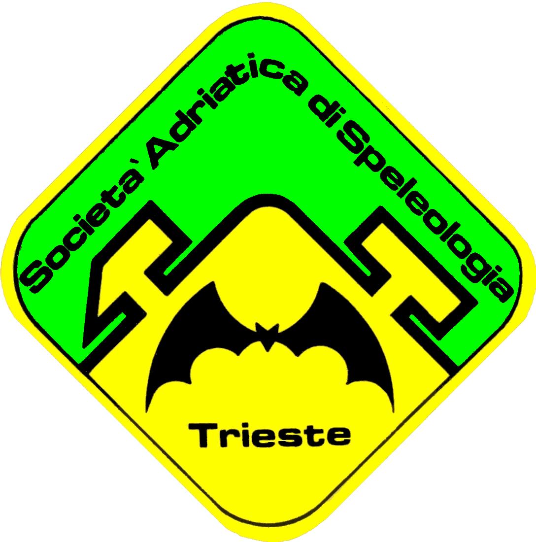 Logo della Socetà Adriatica di Speleologia di Trieste